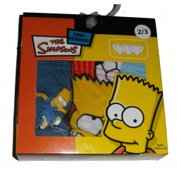 Lot de 3 slip, Les Simpsons