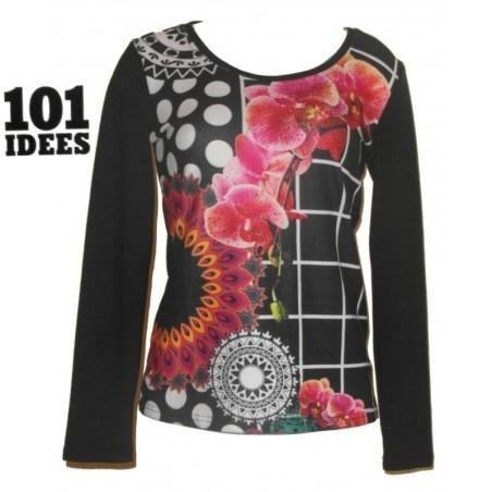 pull rosaces et orchidées, 101 idées