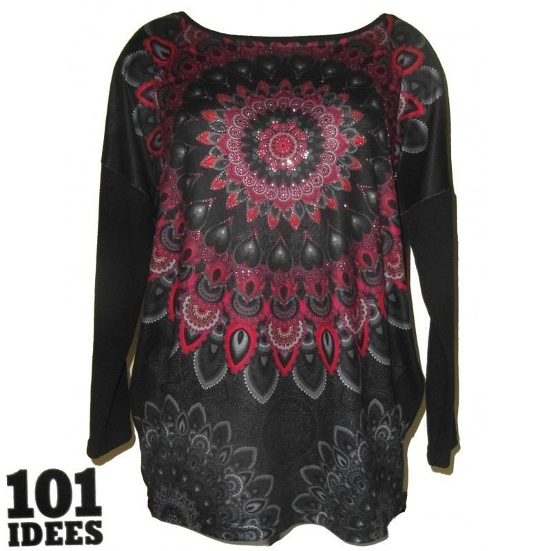 pull, rosaces et strass, 101 id