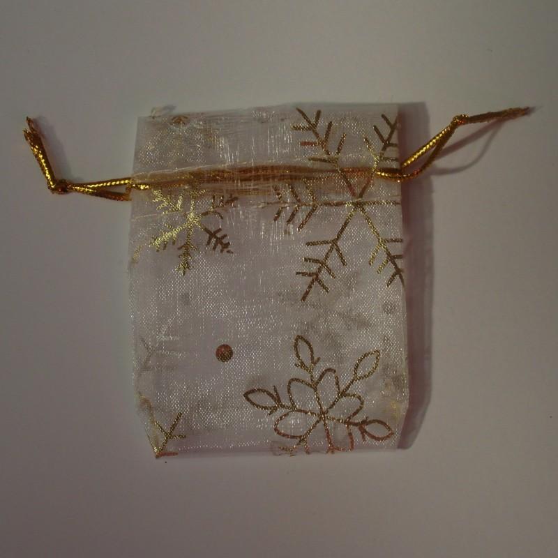 Petit sachet, motif flocons