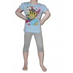 Leggings court, gris (2 ans au 14 ans)