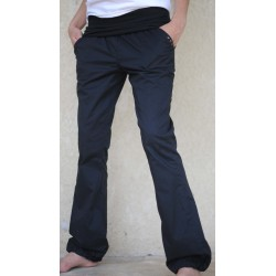 Pantalon Sport Wear, bouffant, noir