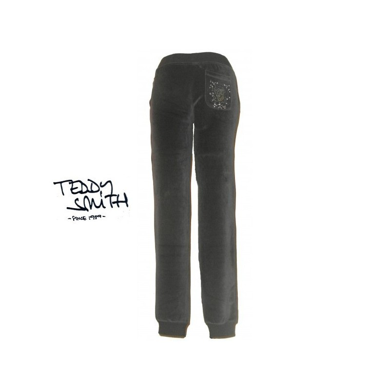 Pantalon de sport, en velours, Teddy smith