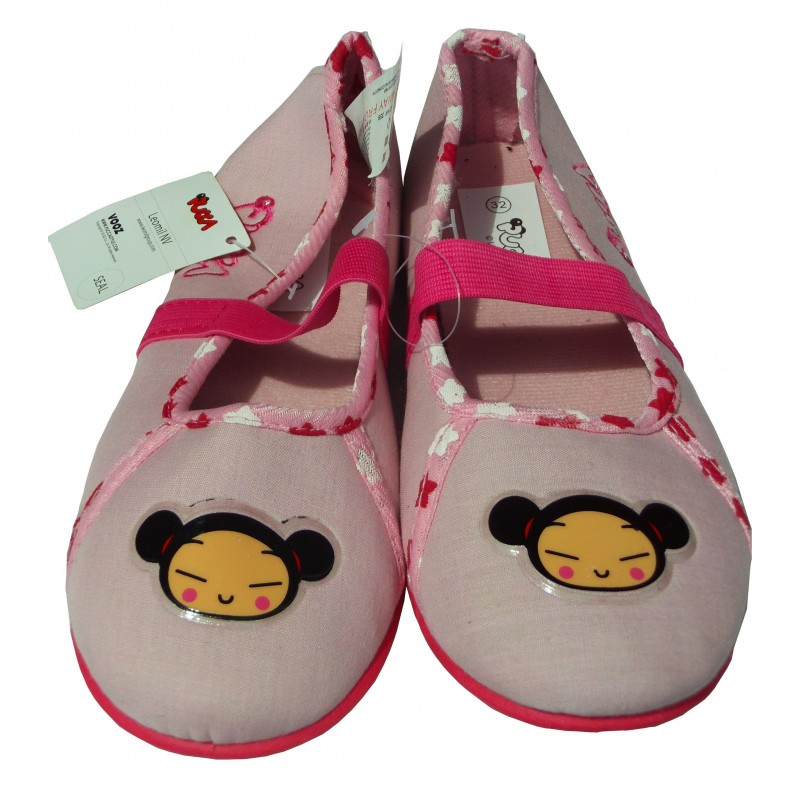 Chaussons forme ballerines, Pucca