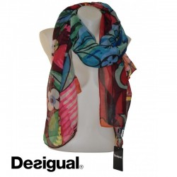 Foulard Coloré, Ikara rectangle, Desigual