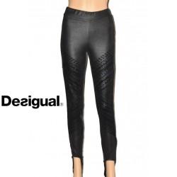 Legging Desigual Gentle, noir