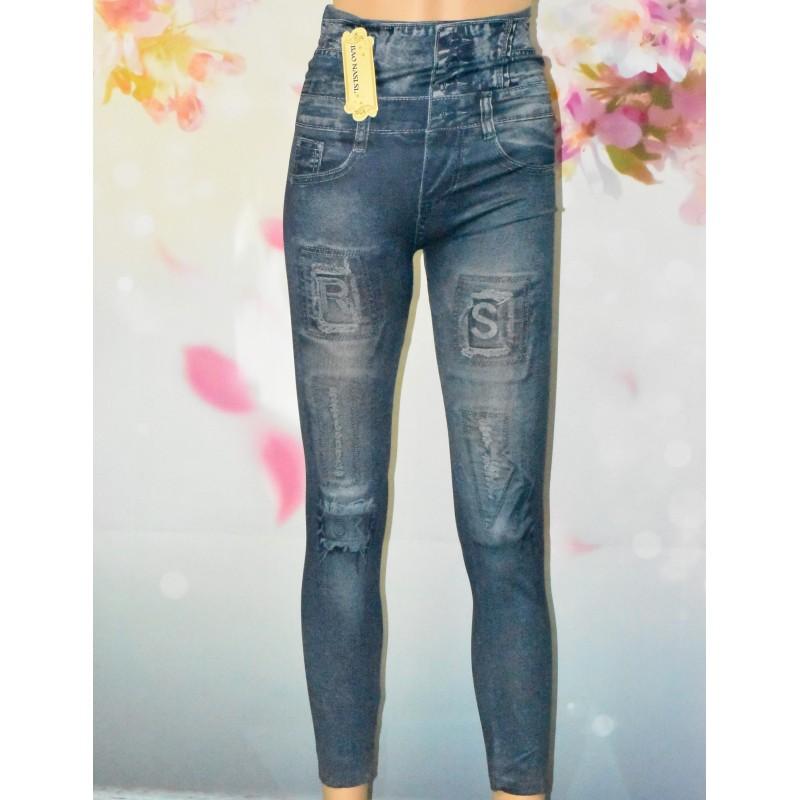 Leggings imitation Jeans (2 coloris)