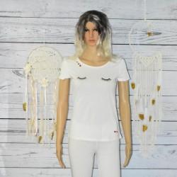 T-shirt blanc, EDC by Esprit
