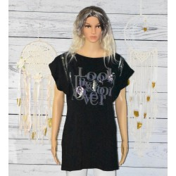 T shirt Tunique sequins, Look for ever
