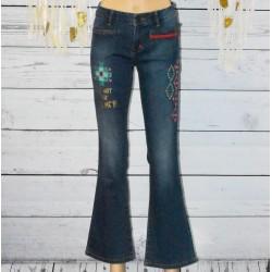 Pantalon jeans fille Desigual, Bumann