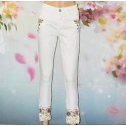 Jeans Sari White, Desigual