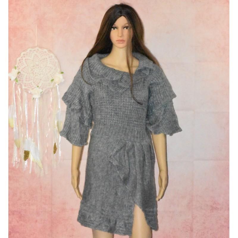 Robe pull, en laine