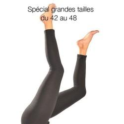 Leggings grande taille (42 à 48), différents coloris