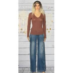 Jeans brut, boot cut, school rag,