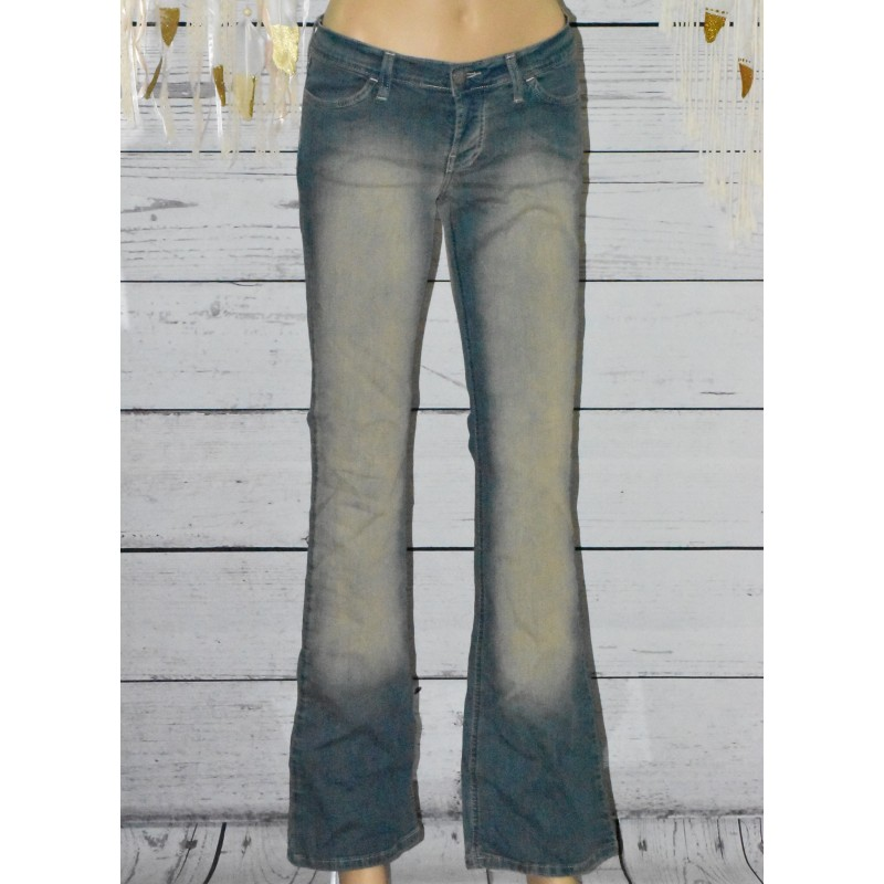 Jeans évasé, School Rag,