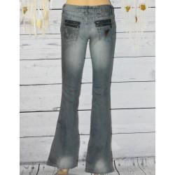 Jeans coupe évasée, Loïs,