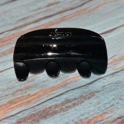 Pinces crabe noire, différentes tailles & formes