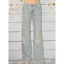 Jeans bleu clair, School Rag