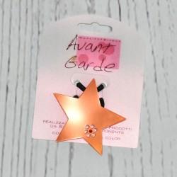 élastique à cheveux, avec étoile en plastique
