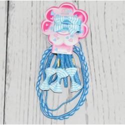 Set d'acessoires de coiffures, bleu, petite fille