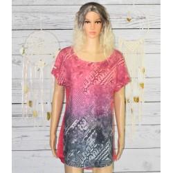 T-shirt Desigual, L Drees B, rose paradis