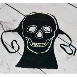 Masque de squelette phosphorescent