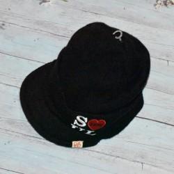 Bonnet casquette, noir, Deep Soul