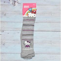 Collant Hello Kitty, coloris gris