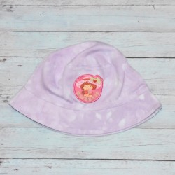 Chapeau baby, Charlotte aux fraises, Tie and Die mauve,