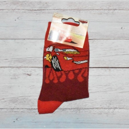 Chaussettes Flash McQueen, Cars