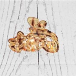 Pince crabe à cheveux, papillon,