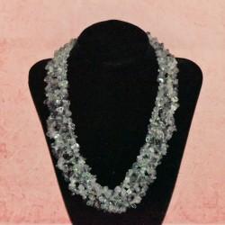 Collier pierre fluorite
