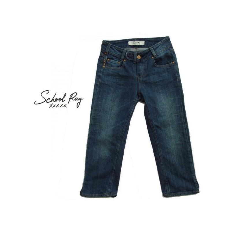 Corsaire en jeans, School Rag,