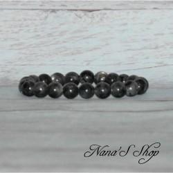 Bracelet élastique Labradorite 8mm