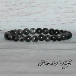 Bracelet élastique Labradorite 6mm