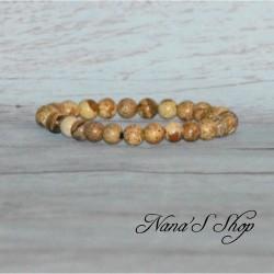 Bracelet élastique Jaspe Paysage